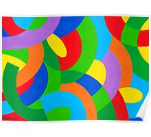 COLORFUL COMPOSITION Poster