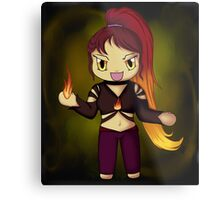 Crazed Chibi Metal Print