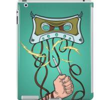 Evil tape iPad Case/Skin