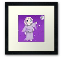 Night Chibi Framed Print
