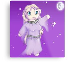 Night Chibi Metal Print