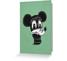 Mickey  Greeting Card
