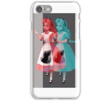 Trippy alice iPhone Case/Skin
