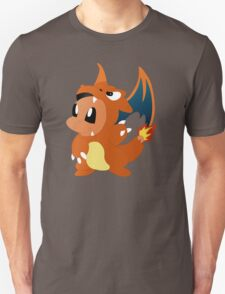 The Dragon Inside Charmander  T-Shirt