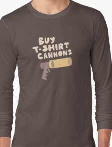 Buy T-Shirt Cannons Long Sleeve T-Shirt