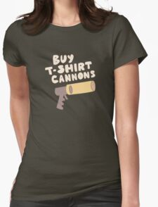 Buy T-Shirt Cannons Womens Fitted T-Shirt