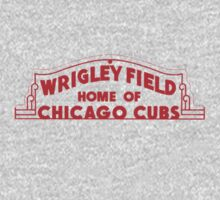 Wrigley Field by jlev1130