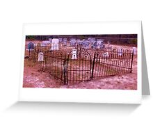 Gate to Rest Artistic Photograph by Shannon Sears Greeting Card