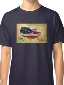 US Map Classic T-Shirt