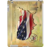 US Map iPad Case/Skin