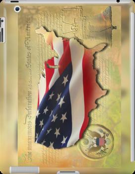 US Map by ArtByRuta