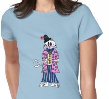 Circus Dog Womens Fitted T-Shirt