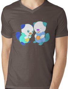 Hey, you look different! ( Oshawott ) Mens V-Neck T-Shirt