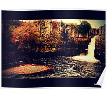 High Force Waterfall -Teesdale  Poster
