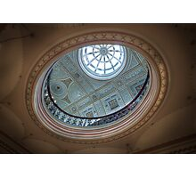 There's a Hole in My Ceiling || Glasgow City Chambers, Glasgow  Photographic Print