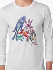Robot Parade Long Sleeve T-Shirt
