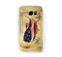 US Map Samsung Galaxy Case/Skin