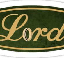 Lord Logo (Green) Sticker