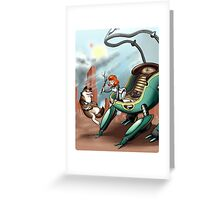 Vivi and Constantine Greeting Card