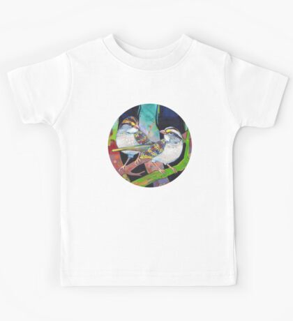 White-throated sparrows painting - 2012 Kids Clothes