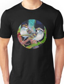 White-throated sparrows painting - 2012 Unisex T-Shirt