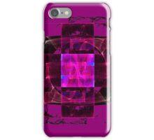 Smoking Pink Cross iPhone Case/Skin