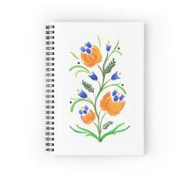 Petrykivka Folk Art Spiral Notebook