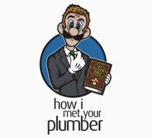 How I Met Your Plumber (STICKER) by mikehandyart