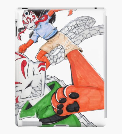 Dance Of the Puppet Eater iPad Case/Skin