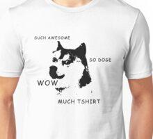 wow So doge meme Unisex T-Shirt