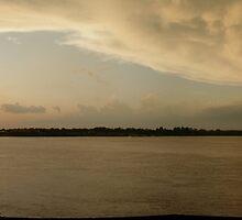 Dusty Sunset by ronburt