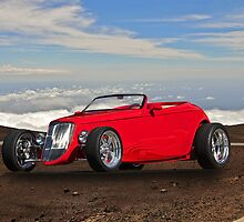 1933 Ford 'Top of the World' Roadster by DaveKoontz