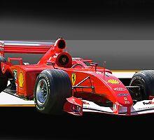 Ferrari Formula One F1 by DaveKoontz