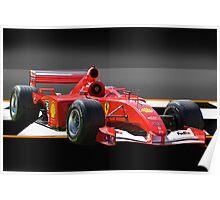 Ferrari Formula One F1 Poster