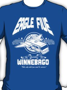 All White Eagle Five-By Revision Apparel™ T-Shirt