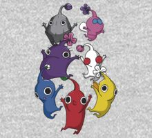 Jumping Pikmin One Piece - Long Sleeve