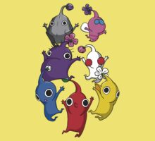 Jumping Pikmin One Piece - Short Sleeve