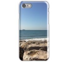 Sky, Water and Rocks iPhone Case/Skin