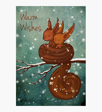 Warm Wishes Photographic Print