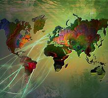 World Map by ArtByRuta