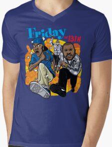 Friday the 13th Mens V-Neck T-Shirt