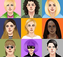 Fictional Females by CallieBooth