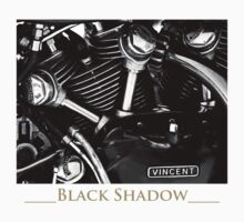 Vincent Black Shadow by pjphoto181