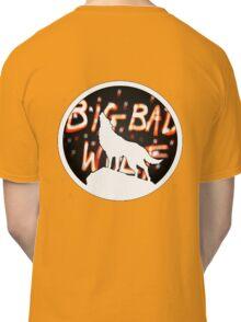 The Big Bad Wolf/white Classic T-Shirt