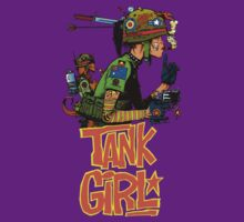 Tank Girl by bobmorlock