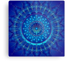Cancer Healing Mandala Metal Print