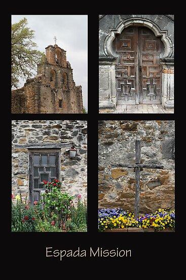 Espada Mission Collage by marybedy