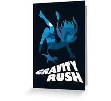 Gravity Rush Greeting Card