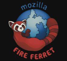 Mozilla Fire Ferret by Jen Pauker