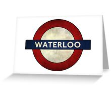 Waterloo Greeting Card